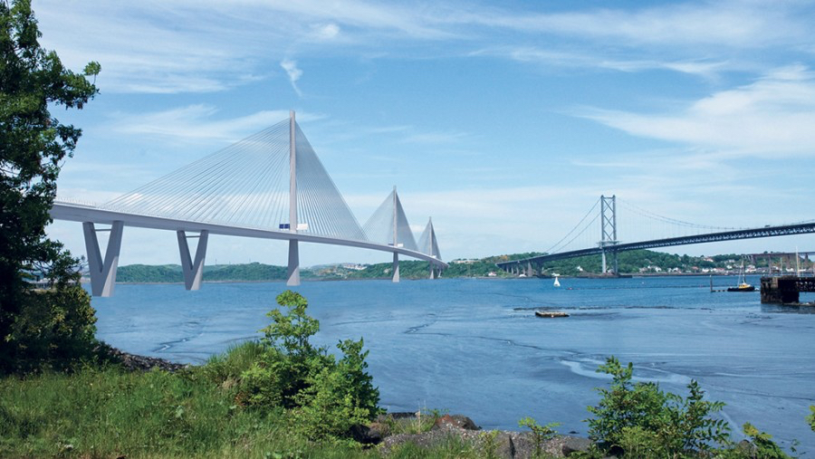 A new era for public transportation in Scotland: Forth Replacement Crossing 2017